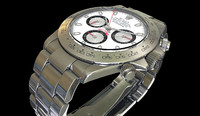 rolex daytona watch 3d max