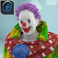 Scary Toon Rigged Clown