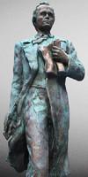 statue poet obj