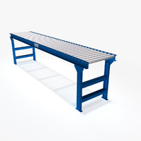 gravity roller conveyor 3d dwg