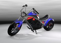 Concept bike S1 chopper