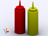 maya ketchup mustard