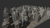 city skyscrapers 3d 3ds