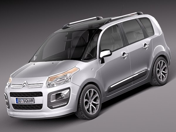 citroen c3 picasso 2013 3d 3ds - Citroen C3 Picasso 2013... by squir