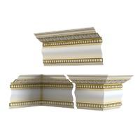 classic plaster cornice 3d model