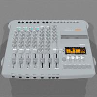 cassette track recorder 3d model