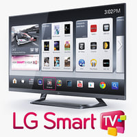 3ds max lg 55 led tv