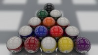 pool ball billiard c4d