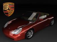 3d porsche 911 996 carrera