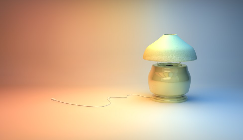 3d nice lamp model for Interior design 07871