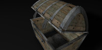 3d pirate chest
