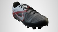 3d model nike soccer shoes