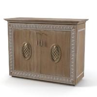 3d model bedroom dresser bisini