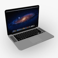 Apple Macbook Pro Retina LOWPOLY