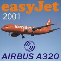 3d model airbus a320