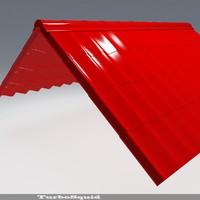 roof 02 3d 3ds