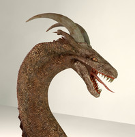 3d model character dragons