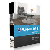 CGAxis Models Volume 25 Furniture III C4D