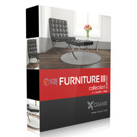 3d model volume 25 furniture iii