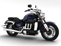 triumph rocket iii roadster 3d model