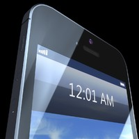 phone 5 3d max