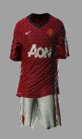 Soccer Kits - Animated (Manchester United)