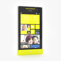 HTC Windows Phone 8S Smartphone Gray/Yellow