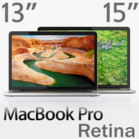MacBook Pro Retina display 15-inch and 13-inch