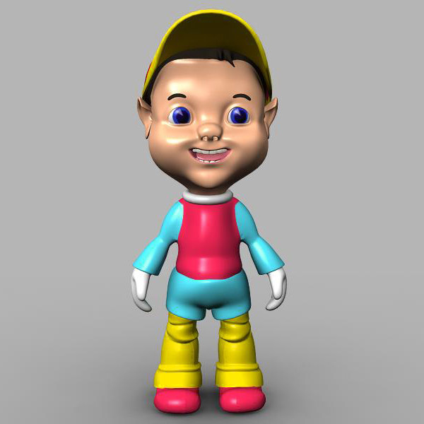 max fantasy cartoon kid