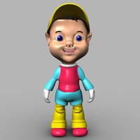 max fantasy cartoon kid