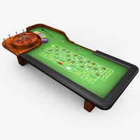 casino table - 3ds