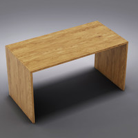 3d crate barrel - desk