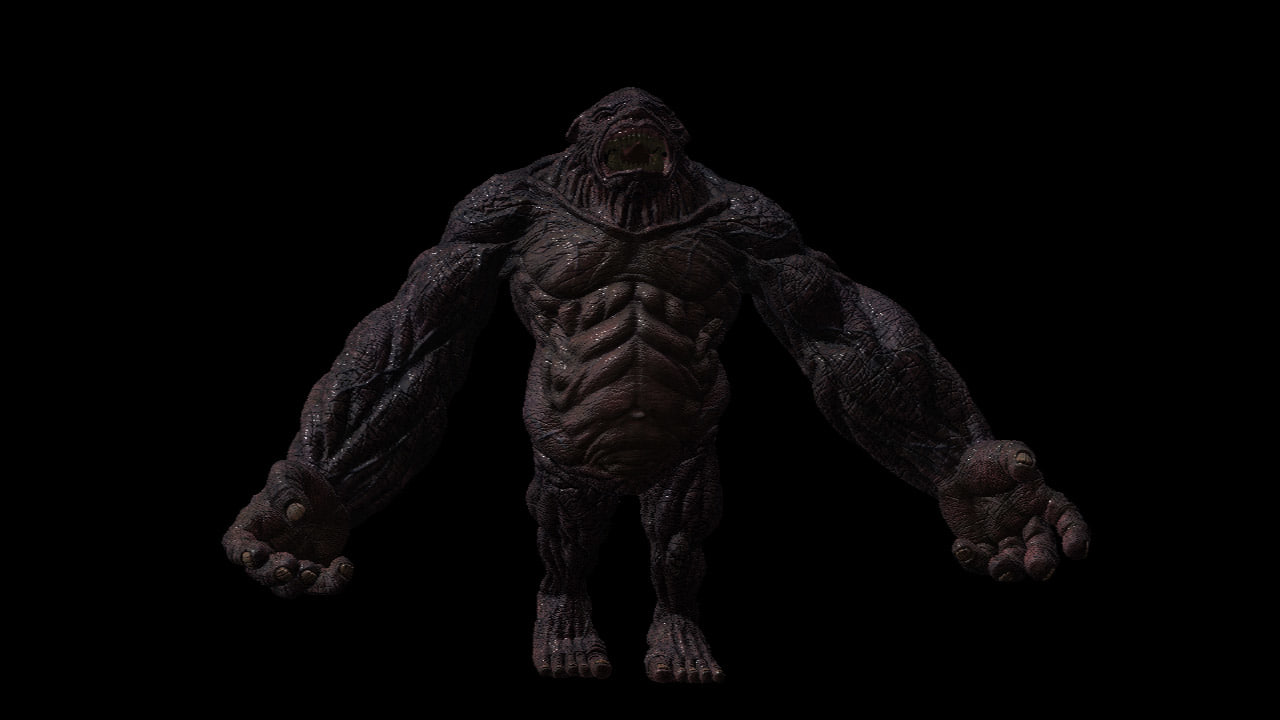 3d model creature monster for Monster 3d model