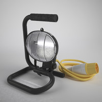 maya standing work light