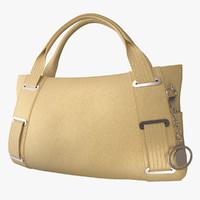 handbag lady 3d model