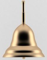 Little gold handbell