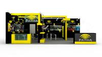 farba exhibition design 3d max