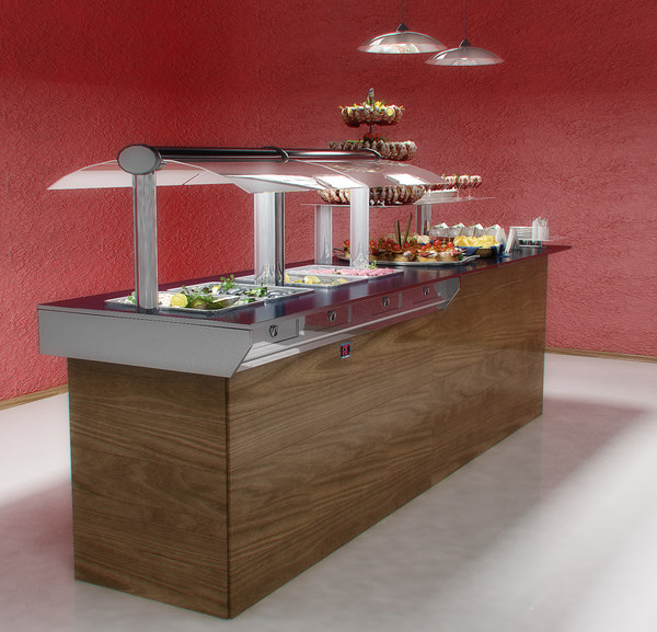 max seafood buffet - Seafood buffet table... by LifelikeForms