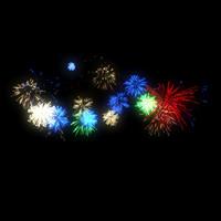 firework star 3d model