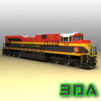 Locomotive EMD SD70ACe KCS