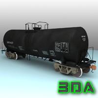 Railroad tankcar T104 GATX