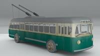 3d trole bus