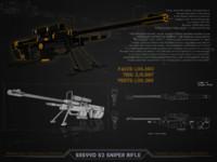 3d s2 sniper rifle model