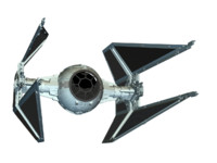 3d model wing tie fighter
