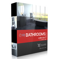 volume 22 bathrooms 3d max