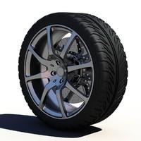 Sport Car Wheel