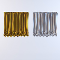 curtains 19 3d model