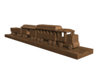 maya en train track