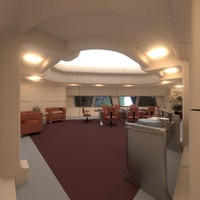 Starship Interior - Conference Room