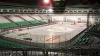 ice hockey arena 3d obj
